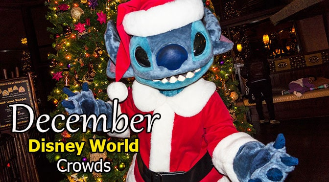 Disney World Crowd Calendar December 2019