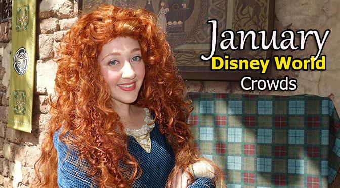Disney World Crowd Calendar January 2020