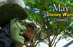 Disney World Crowd Calendar May 2020