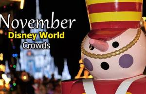 Disney World Crowd Calendar November 2019