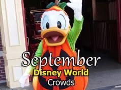 Disney World Crowd Calendar September 2020