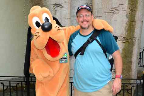 Disney's Hollywood Studios meet and greet Pluto