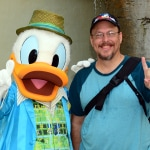 Disney's Hollywood Studios meet and greet Donald Duck