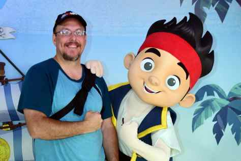 Disney's Hollywood Studios meet and greet Jake and the Neverland Pirates
