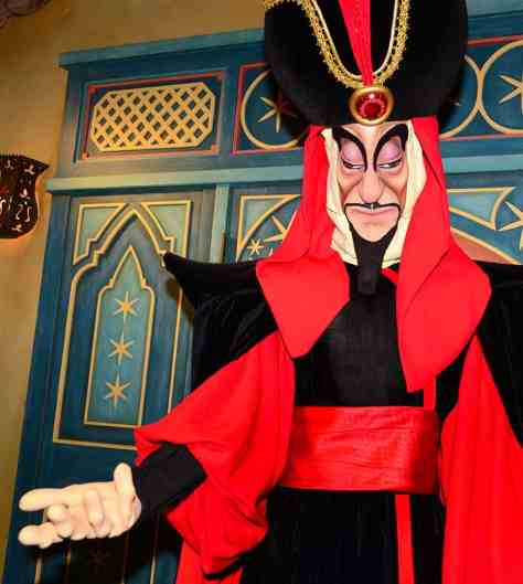 Mickey's Not So Scary Halloween Party 2014 Jafar meet and greet