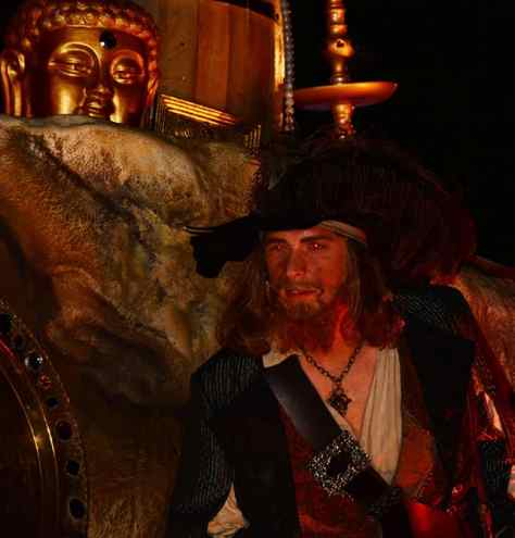 Mickey's Not So Scary Halloween Party 2014 Boo to You Halloween Parade Barbossa