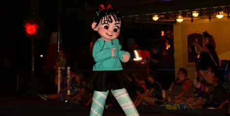 Mickey's Not So Scary Halloween Party 2014 Boo to You Halloween Parade Vanellope