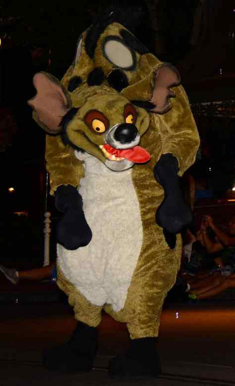 Mickey's Not So Scary Halloween Party 2014 Boo to You Halloween Parade Hyenas Ed