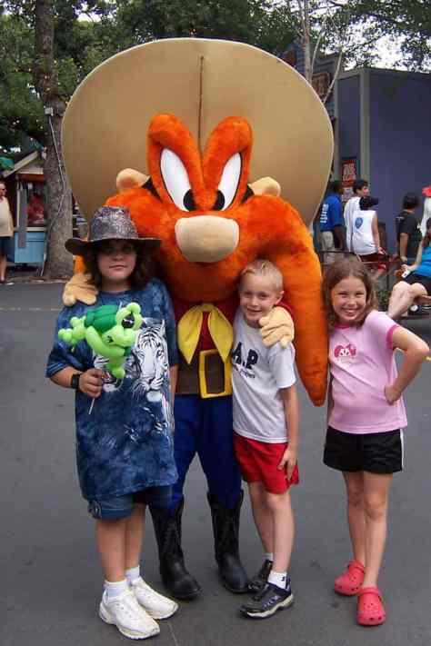 Yosemite Sam Six Flags Texas 2007