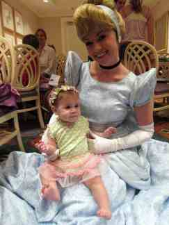 Cinderella at 1900 Park Fare at the Grand Floridian Resort at Disney World