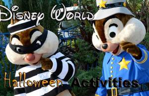 Disney World Halloween Activities at resorts