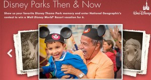 disney world then and now national geographic sweepstakes
