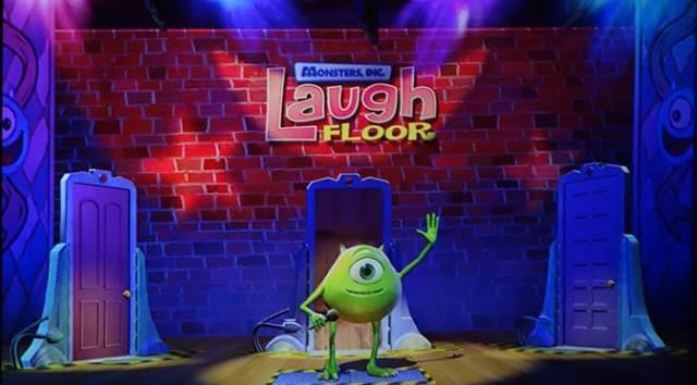 monsters inc laugh floor comedy club tomorrowland magic kingdom disney world