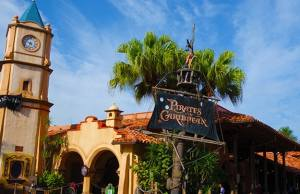 pirates of the caribbean adventureland magic kingdom disney world