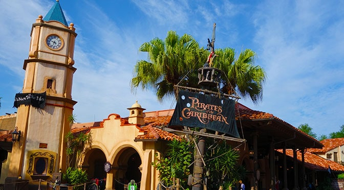 Pirates of the Caribbean closing for refurbishment early 2018