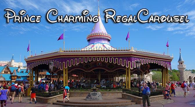 prince charming regal carousel fantasyland magic kingdom walt disney world