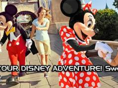 share your disney adventure sweepstakes