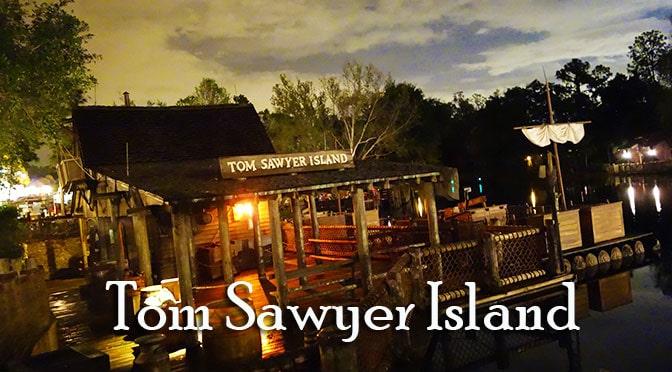 Disneyland Tom Sawyer Island Paint Brush