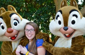 Chip n Dale Chipmunks leave Epcot