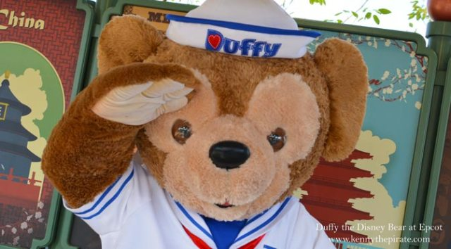 Duffy the Disney Bear Epcot Walt Disney World