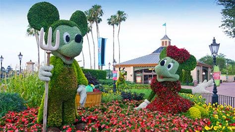 Epcot International Flower and Garden Festival 2020