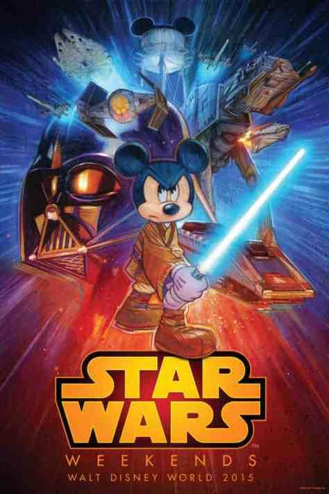 Star Wars Weekends 2015 logo and information l kennythepirate.com