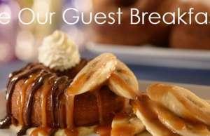 Be Our Guest Restaurant at Walt Disney World's Magic Kingdom Breakfast