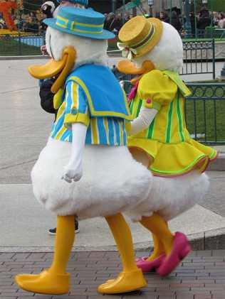 Disneyland Paris Swing into Spring Donald and Daisy 2