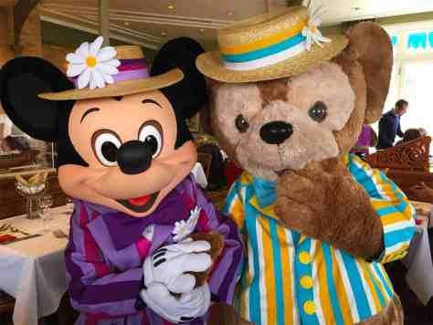 Disneyland Paris Swing into Spring Mickey Mouse Duffy