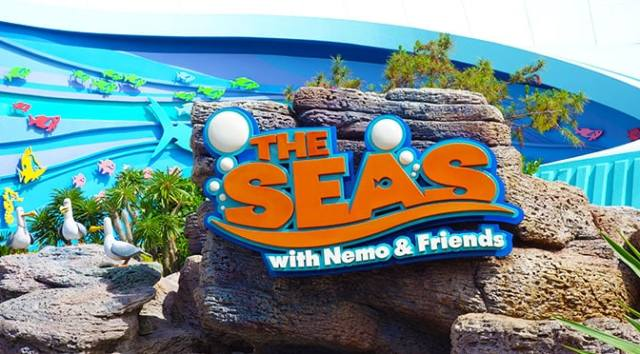 The Seas with Nemo and Friends at Epcot in Walt Disney World
