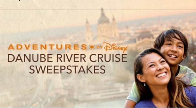 Adventures by Disney Danube River Cruise Sweepstakes