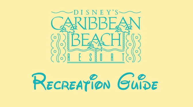 Caribbean Beach Resort Recreation Activities Guide