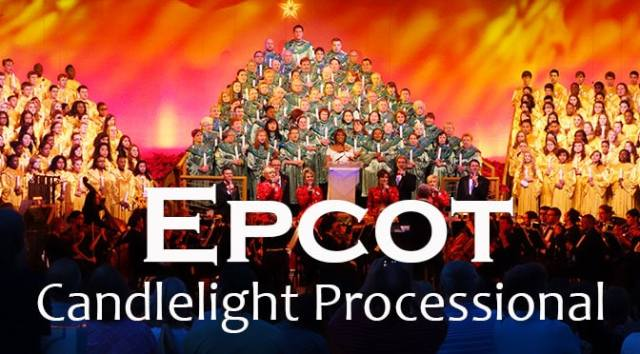 2017 Epcot Candlelight Processional