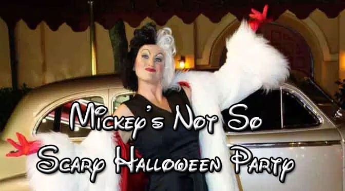 Mickey's Not So Scary Halloween Party Characters 2017