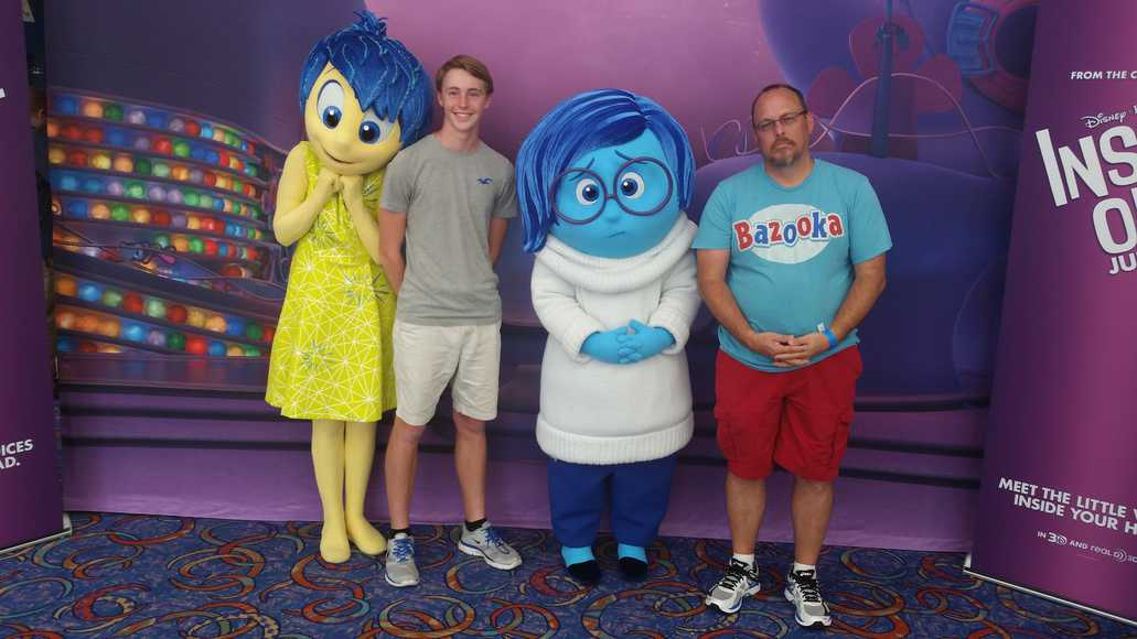 Joy And Sadness Coming To Epcot Meet And Greet Kennythepirate