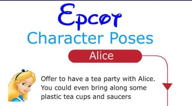 KennythePirate Epcot Poses for Disney World Character Photos