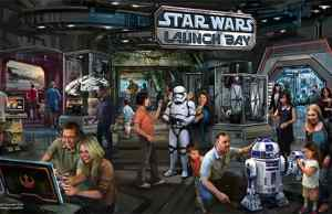 Star Wars Launch Bay coming to Hollywood Studios and Disneyland