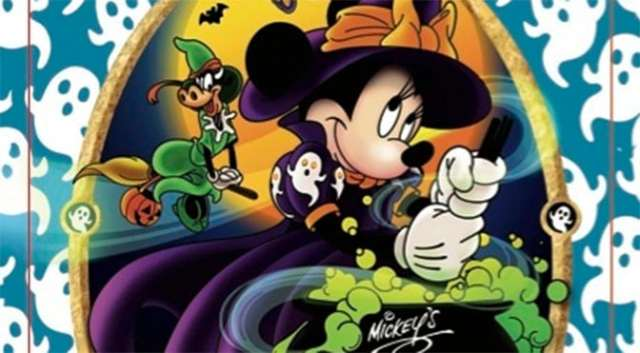 2015 Mickey's Not So Scary Halloween Party exclusive Sorcerers of the Magic Kingdom card