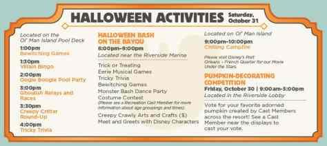 Halloween 2015 Port Orleans Riverside Resort