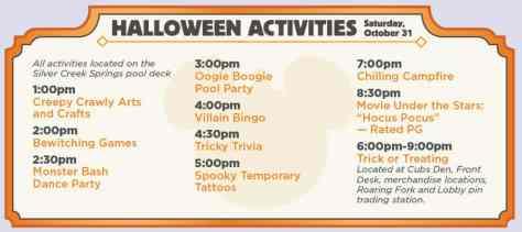 Halloween 2015 Wilderness Lodge Resort