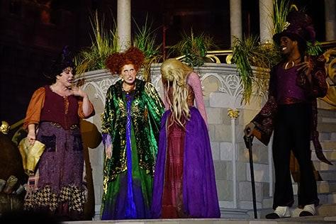 Hocus Pocus Villain Spelltacular at Mickey's Not So Scary Halloween Party 2015 (13)