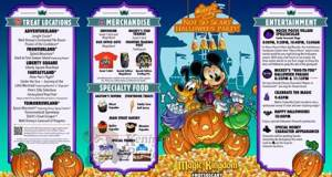 Mickey's Not So Scary Halloween Party Map and Info