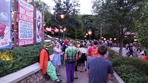 Mickey's Not So Scary Halloween Party at Walt Disney World's Magic Kingdom 2015 (41)