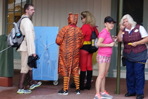 Mickey's Not So Scary Halloween Party at Walt Disney World's Magic Kingdom 2015 (7)