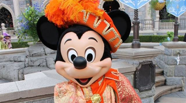 Prince Mickey Mouse Disneyland Paris