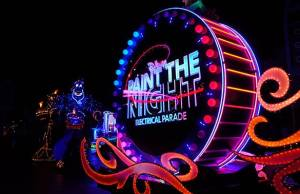 Paint the Night Parade at Disneyland Resort