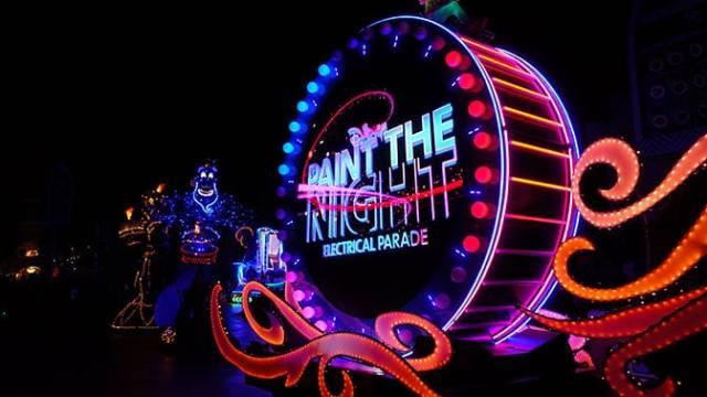 Paint the Night Parade at Disneyland Resort
