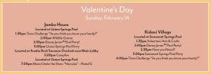 Animal Kingdom Lodge Valentines Activities