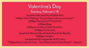 Coronado Springs Valentine's Activities