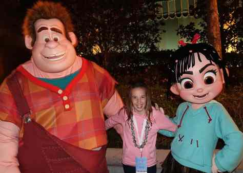 DVC 25th Anniversary Party at Magic Kingdom in Disney World Wreck it Ralph and Vanellope #dvc25